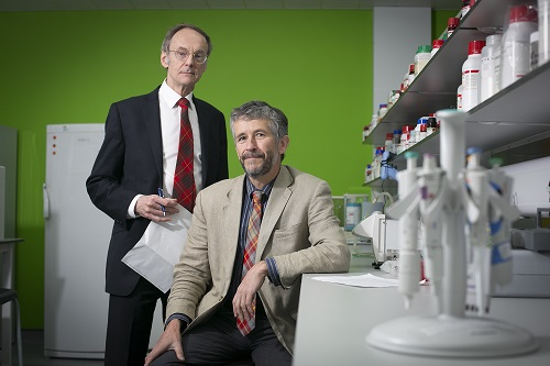 Professor Roy Taylor (left) and Professor Mike Lean (right) leading the DiRECT study